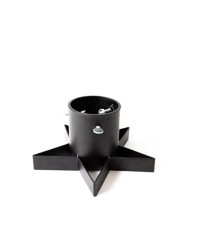 Julgransfötter för minigran - Stand Mini svart