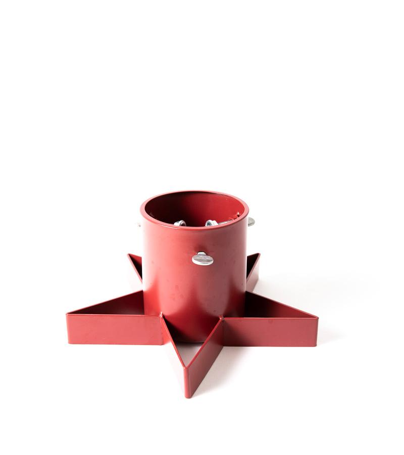 Julgransfötter för minigran - Stand Mini röd