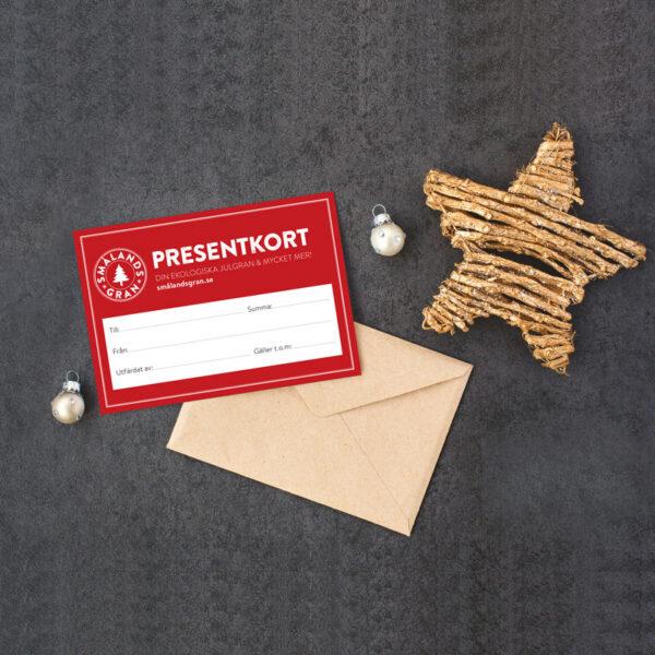 Presentkort - ge bort julen till någon